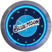 Neonetics 8MCBLM Blue Moon Beer Neon Clock