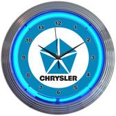 Neonetics 8CRYBL Chrysler Pentastar Neon Clock