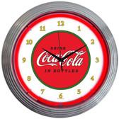 Neonetics 8CCCLA Coca-Cola 1910 Classic Neon Clock