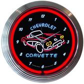 Neonetics 8CORV1 Corvette C1 Neon Clock