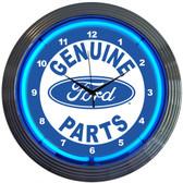 Neonetics 8FRDGP Ford Genuine Parts Neon Clock