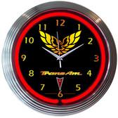 Neonetics 8TRANS Gm Trans Am Neon Clock