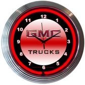 Neonetics 8GMCXX Gmc Truck Neon Clock