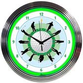 Neonetics 8GOLFR Golf Neon Clock