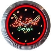 Neonetics 8HOTRD Hot Rod Garage Neon Clock