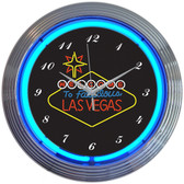 Neonetics 8VEGSN Las Vegas Sign Neon Clock