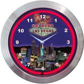 Neonetics 8VEGAS Las Vegas Strip Neon Clock