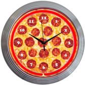 Neonetics 8PIZZA Pizza Neon Clock