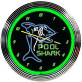 Neonetics 8POOLS Pool Shark Neon Clock