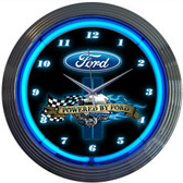 Neonetics 8PWDFORD Powered By Ford Neon Clock