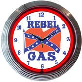 Neonetics 8REBEL Rebel Gas Neon Clock