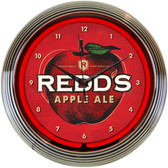 Neonetics 8MCRED Redds Apple Ale Neon Clock