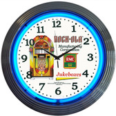 Neonetics 8ROCXX Rock-Ola Jukebox Neon Clock
