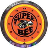 Neonetics 8SUPER Super Bee Neon Clock
