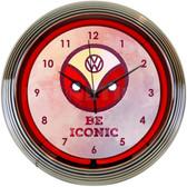 Neonetics 8VWICN Volkswagen Be Iconic Neon Clock
