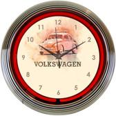 Neonetics 8VWBUG Volkswagen Beetle Neon Clock