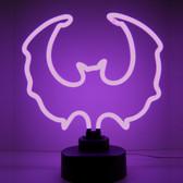 Neonetics 4BATMM Purple Bat Neon Sculpture