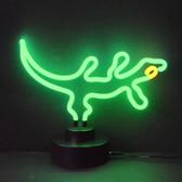 Neonetics 4GECKO Gecko Neon Sculpture