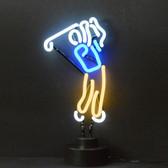 Neonetics 4GOLFX Golfer Neon Sculpture