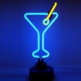 Neonetics 4MARTX Martini Glass Neon Sculpture