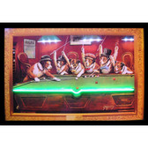 Neonetics 3DOGNL Dogs Playing Pool Neon/Led Picture