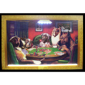Neonetics 3DOGPK Dogs Playing Poker Neon/Led Picture