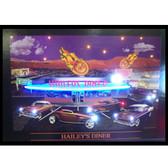 Neonetics 3HAINL Haileys Diner Neon/Led Picture