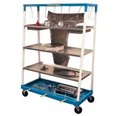 Herkules PM1 Mobile Parts Shelf Cart