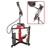 Schley Products 11000A Mobile Hydraulic Press Tool With Air Pump