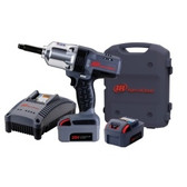 "Ingersoll Rand W7250-K2 1/2"" Drive Impact Wrench W/ Extended Anvil, Charger, & Two Batteries"