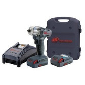 "Ingersoll Rand W5130-K2 3/8"" Drive 20V Cordless Impact Wrench Kit With Two 1.5Ahr"