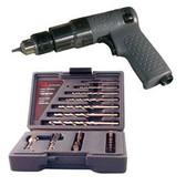 """Ingersoll Rand 7804K Mini 1/4"""" Drill Kit with 22 Piece Drill/Driver Set"""