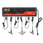 Auto Meter BUSPRO-660 Agm Optimized Smart Battery Charger - 6 Channel, 120V 5 Amp