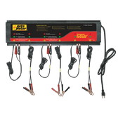 Auto Meter BUSPRO-662 Agm Optimized Smart Battery Charger - 6 Channel, 230V 5 Amp