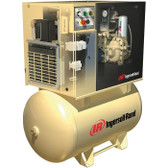 Ingersoll Rand Up6-30Tas-125 30 Hp 125 Psi 120 Gallon Rotary Screw Air Compressor W/ Dryer
