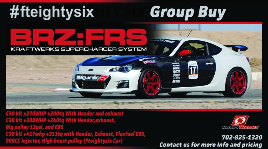 Frs C38 Supercharger