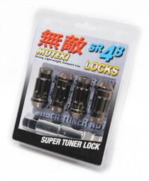 32901T - Muteki SR48 Lug Nuts : Titanium : 12X1.25 : 4pk Lock Set
