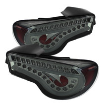 Spyder LED Tail Lights Smoked FRS/BRZ/86