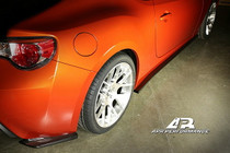 APR Carbon Fiber Side Rear Bumper Extension for Scion FRS - FS-522008