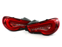 Valenti Red Cherry Sequential Tail Lights for Scion FR-S / Subaru BRZ
