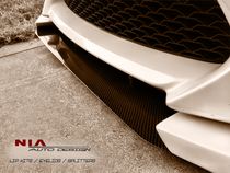 NIA Carbon Fiber/Fiberglass Front Bumper Splitter for Scion FR-S