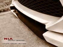 NIA Carbon Fiber/Fiberglass Front Bumper Splitter for Scion FR-S (Unpainted)
