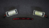 SUPER Bright License Plate Lights LED housings for Scion FR-S / Subaru BRZ