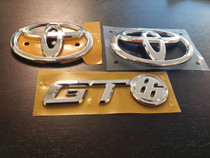 Toyota GT86 Conversion Badge Kit for FR-S! Genuine (OEM) Toyota Badges