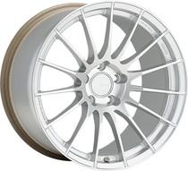 Enkei RS05-RR 18x9.5 5x100 +43 Sparkle Silver Wheel