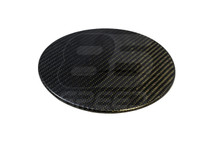 Carbon Fiber Gas Cover Overlay