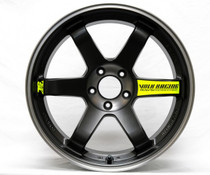 Volk Racing TE37 SL 18x9.5 5x100 +40 Black Edition Wheel (TE37SL- Black)
