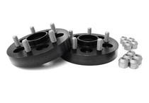 Perrin 5x100 25mm Black Anodized Wheel Spacer Pair (PSP-WHL-026BK)