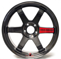 Volk Racing TE37 SL 18x9.5 5x100 +40 Pressed Graphite Wheel
