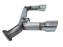 Berk BT8610 - Scion FR-S Subaru BRZ 12-16 Dual Tip Muffler Delete